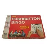Vintage 1973 Milton Bradley Push-Button BINGO 24 Cards Complete - Rare Find - $29.95