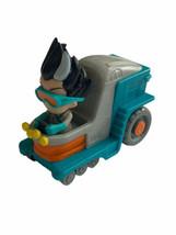 Disney PJ Masks Romeo Lab Vehicle Action Figure Just Play Frog Box Car - $12.86