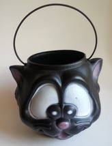 Empire Black Cat Pumpkin Pail Trick or Treat Candy Bucket Pail Halloween... - $24.19