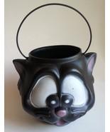 Empire Black Cat Pumpkin Pail Trick or Treat Candy Bucket Pail Halloween... - $21.73