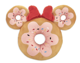 Disney Parks Minnie Mouse Donut Scented Medium Plush New with Tags - $37.07