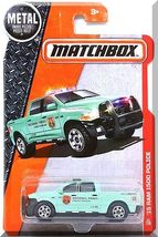 Matchbox - '15 RAM 1500 Police: MBX Heroic Rescue #61/125 (2016) *Green ... - $4.00