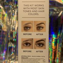 NEW IN BOX Billion Dollar Brows The Best Brows Ever! Kit 4pcs Gel Pencil Conceal image 5
