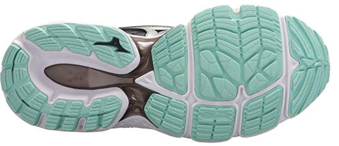 Mizuno Wave Inspire 14 Sz 9 M (B) EU 40 Women's Running Shoes Black 410985.9073 image 6