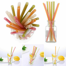 Rice straws planet-friendly, ocean-safe, guilt-free drinking - 100 straws  image 2