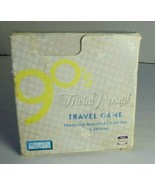 Trivial Pursuit 90's Travel Trivia Game Parker Bros. Party Adults Car Games - $12.82