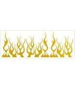 LiteMark Reflective Yellow Assorted 4 Inch Flames - Pack of 9 - $14.95