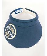 Fieldcrest Cannon Classic Unisex Golf Visor Hat Blue  - $11.88