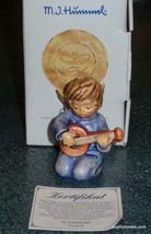 """The Accomponist"" Goebel Hummel Angel Figurine #453 TMK7 With Original Box! - $111.54"