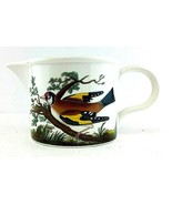 "PORTMEIRION Birds of Britain Creamer, Jug 3 1/2"" Tall Pitcher - Made in ... - $35.99"