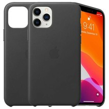 Leather Case for iPhone 11 Pro Max - Black - $17.75