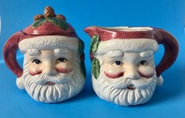 Santa Claus Sugar and Creamer Set for Christmas by Belk - $21.95