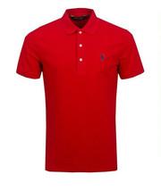 Polo  Golf Ralph Lauren Men's Mesh Polo Shirt Red Size XXL - $59.39