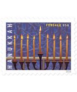 2016 47c Hanukkah Candle Menorah, Window Trim & Branches Scott 5153 Mint... - $1.88 CAD