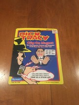 Dick Tracy 1990 Lips Manlis Clip-On Magnet Playmates Toys NIP Disney - $13.36