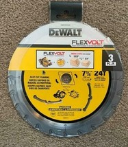 """DeWalt DWAFV37243 FlexVolt 7-1/4"""" x 24 Tooth Circular Saw Blades 3 Pack - $31.68"""