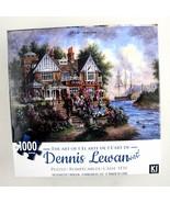 Dennis Lewan Art Puzzle The Bearister's Mansion Ship Castle Karmin 1000p... - $15.79