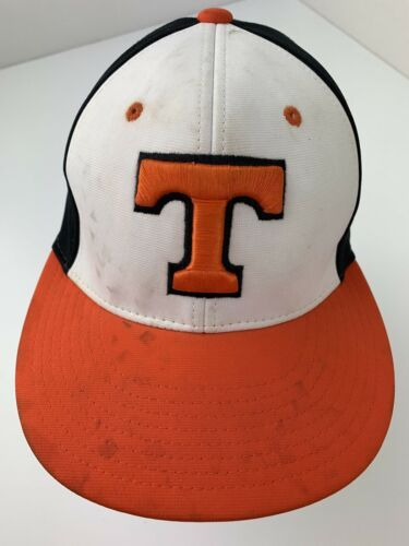 "Primary image for Letter ""T"" Little League Team? Fitted XS/S Adult Baseball Ball Cap Hat"