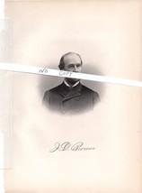 James Nichols, President National Fire Insurance Company.  - Portrait - $14.24
