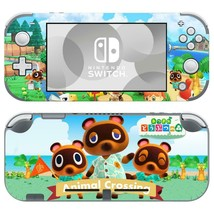 Nintendo Switch Lite Console Skin Sticker Wrap Vinyl Animal Crossing Cartoon Tom - $9.21