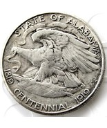 1921 1919 Alabama Centennial Half Dollar USA American Commerative Casted... - $11.99