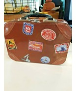 Accoutrements Metal Lunchbox Lunch Box Travel Stickers Theme EUROPE+ - $15.83