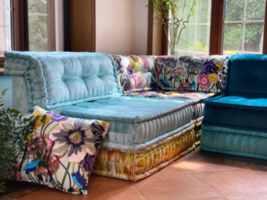 Custom modular Handmade Sectional Element Versatile Build A Sofa Sofas C... - $890.99