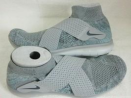 Nike Mens Free RN Motion FK 2017 Running Shoes Wolf Grey Thunder Blue Si... - $84.14
