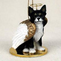 CHIHUAHUA (BLACK) ANGEL DOG CHRISTMAS ORNAMENT HOLIDAY  Figurine Statue - $14.99