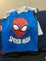Marvel Spiderman 3 Piece Clothing Set  ( Shorts, Tee Shirt  & Tank Top) ... - $18.52