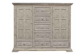 Distressed White Penelope Large Masters Bedroom Chest - $1,381.05