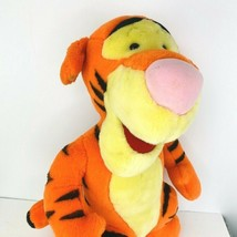 Disney Mattel Vintage Tigger Winnie the Pooh Plush Large 22 Standing Curl Tail  - $39.59