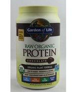 Garden of Life Raw Organic Protein Chocolate, 22G Protein, No Sugar 1lb ... - $35.62