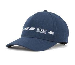 Hugo Boss Men's Melange Logo Cap Hat With Contrast Embroidery Sport Logo image 5
