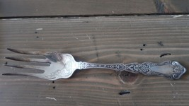 Vintage Silverplate WM Rogers 1907 Alhambra Cold Meat Fork 8.5 inches - $16.08