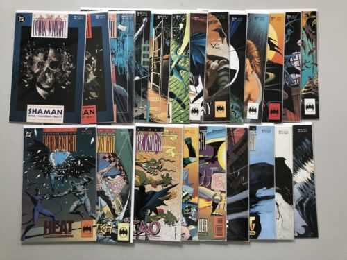 Lot of 22 Batman Legends of the Dark Knight (1989) from #4-78 FN-VF Very Fine