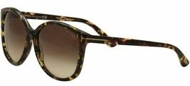 Tom Ford ALICIA Havana / Brown Gradient Sunglasses TF275 56B 59mm - $155.82