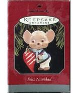 1998 Hallmark Keepsake Christmas Ornament - Mouse Chili Pepper - Feliz N... - $3.55