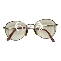 Vintage Safilo Elasta Eyeglass Frames Pink Multicolor Patterned Full Rim... - $27.87