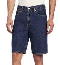 Levi's 550 Men's Classic Premium Cotton Denim Shorts Dark Stonewash image 1