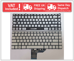 HP Envy 13-AD000 13-AD100 Series UK Layout QWERTY Laptop Keyboard SG-850... - $38.87