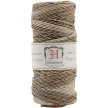 Hemptique Hemp Variegated Cord Spool 20lb 205'-Earthy - $8.38