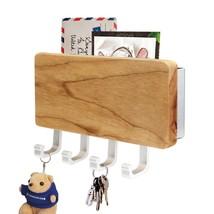 Key Rack Holder Keys Hooks Letters Entryway Mounted Organizer Belt Purse... - $29.65