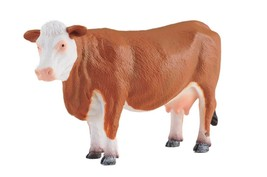 Breyer CollectA 88235 Hereford cow very nice  exceptional miniature <> - $8.70