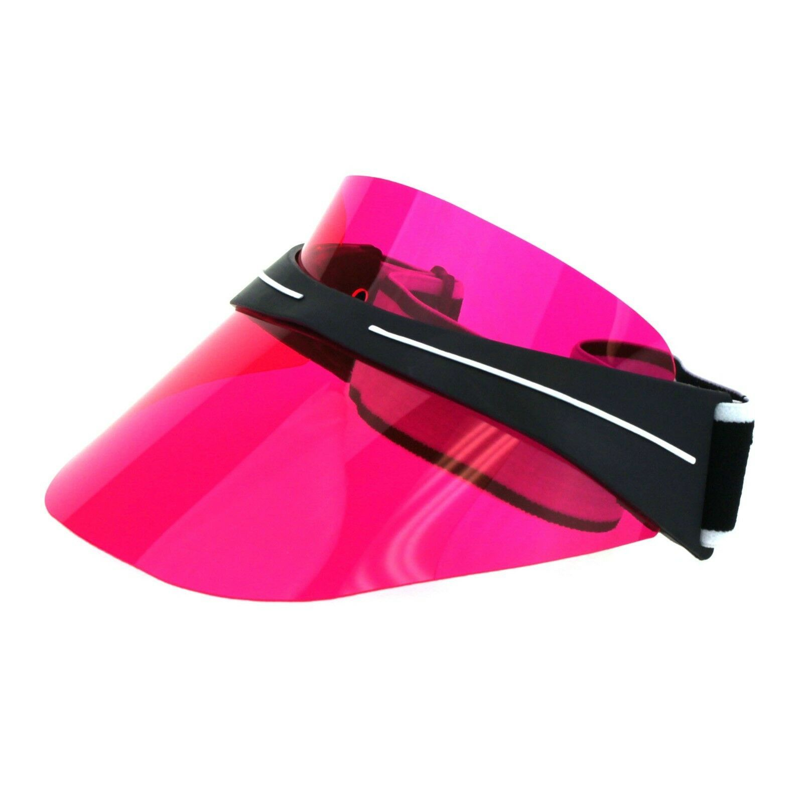 Tinted Sun Visor With Adjustable Straps Sun Cover Unisex