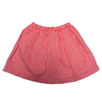 Oskkosh youth girl pink striped skirt size 10 - $12.30