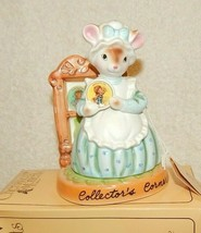 "1980 Cherished Moments Collection ""Collector's Corner"" Mouse  Avon Award - $19.75"