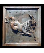Capricorn Zodiac Wall Relief Sculpture Plaque (Dec 22 - Jan 19) - $68.31