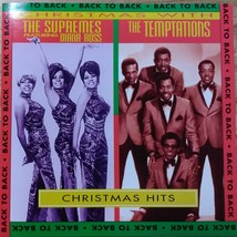 The Supremes / Diana Ross & The Temptations CD Christmas Hits - $4.95