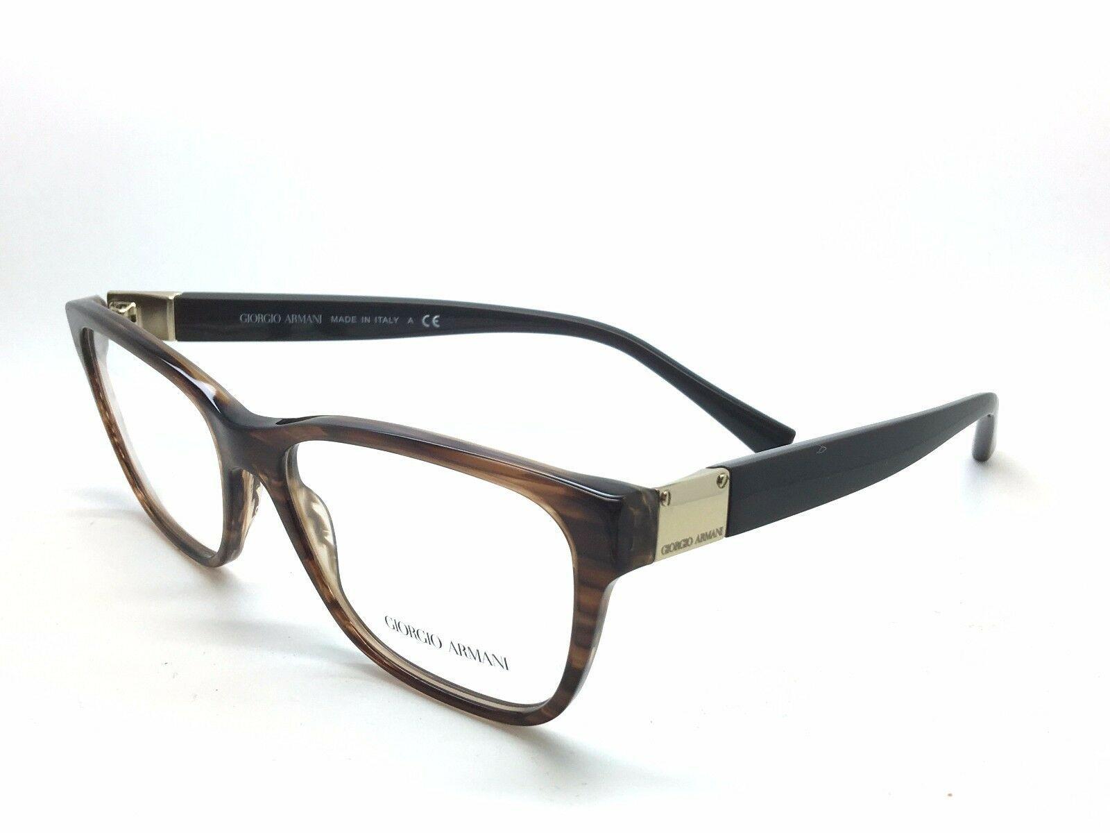 Giorgio Armani gray deco gradient rose gold Eyeglasses AR 7031 5236 52/ POUCH - $86.80